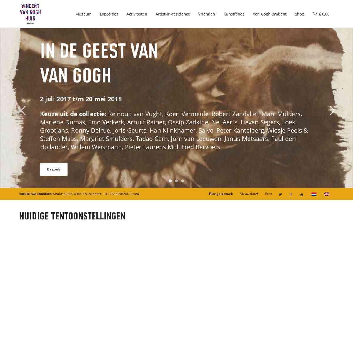 vangoghhuis.com