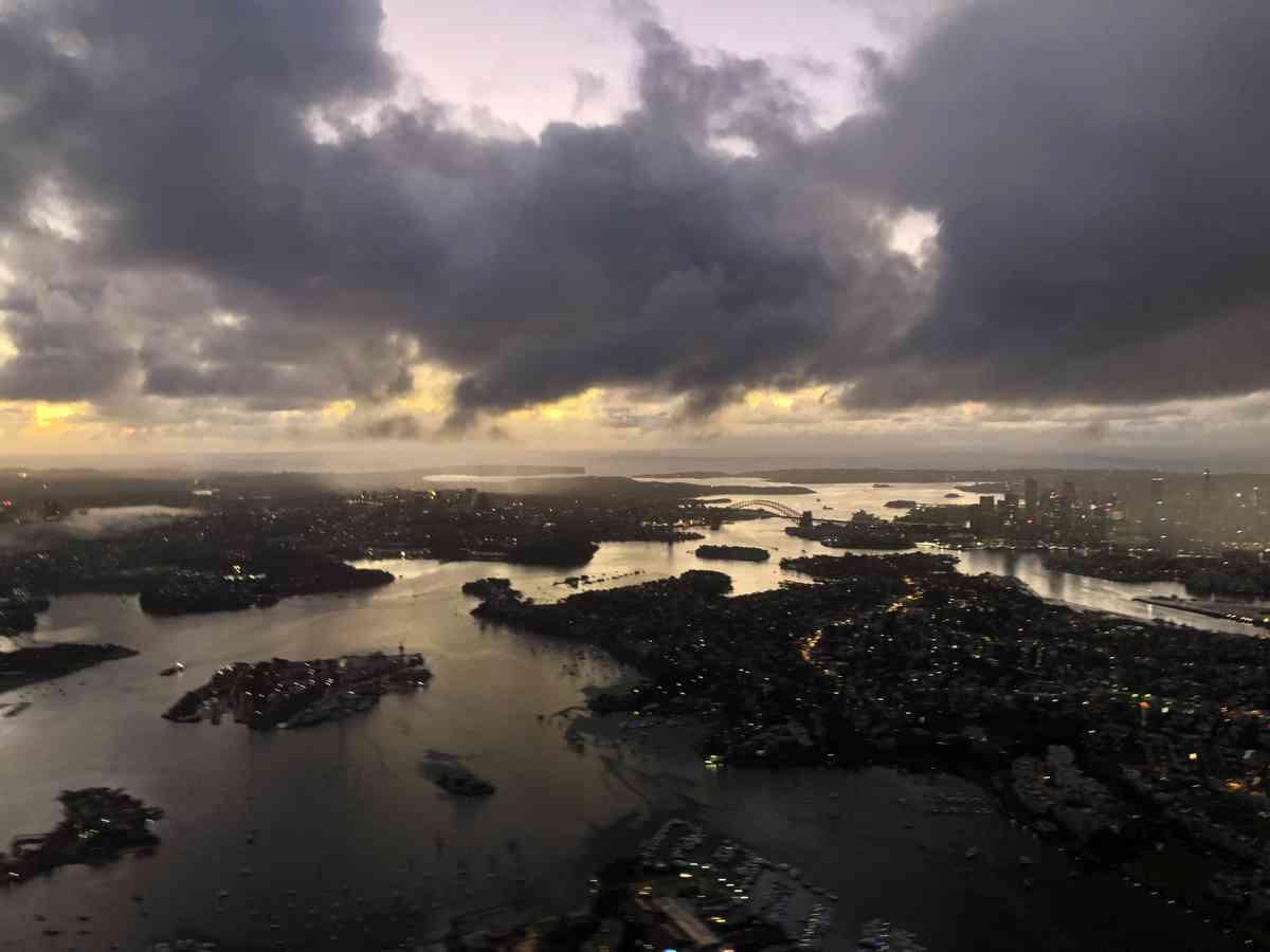 02. Qatar Airways to Sydney