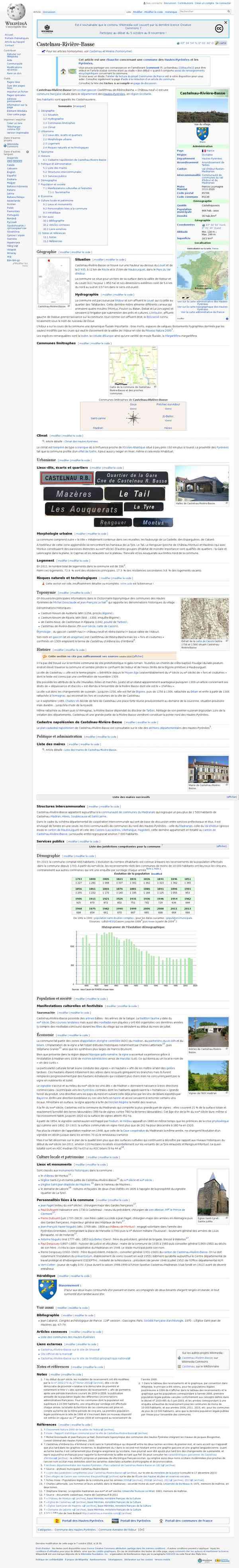 Castelnau-Rivière-Basse - Wikipédia