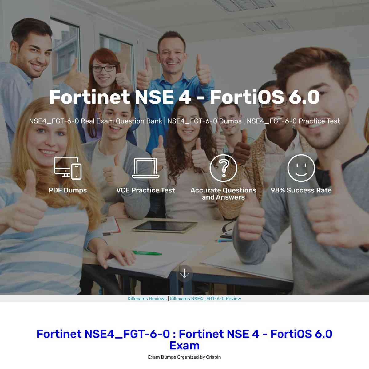 Don't Miss these Fortinet NSE4_FGT-6-0 Exam Questions for your exam