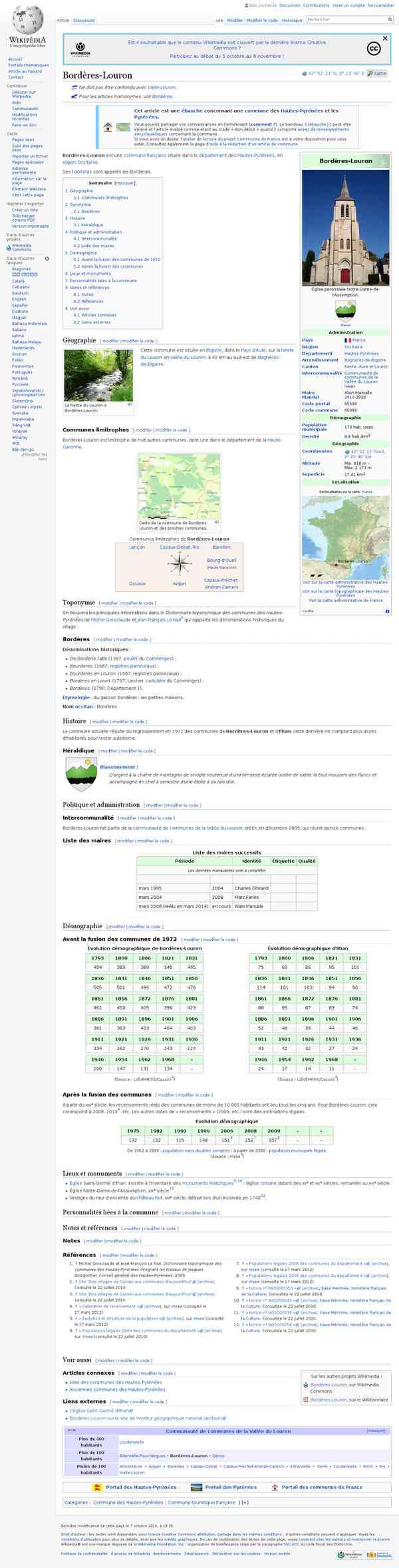 Bordères-Louron - Wikipédia