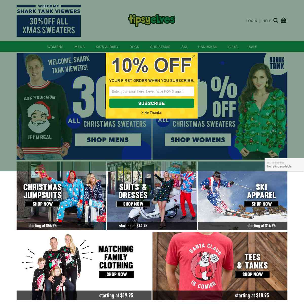 Tipsy Elves: Fun Clothing & Outfits For Every Holiday