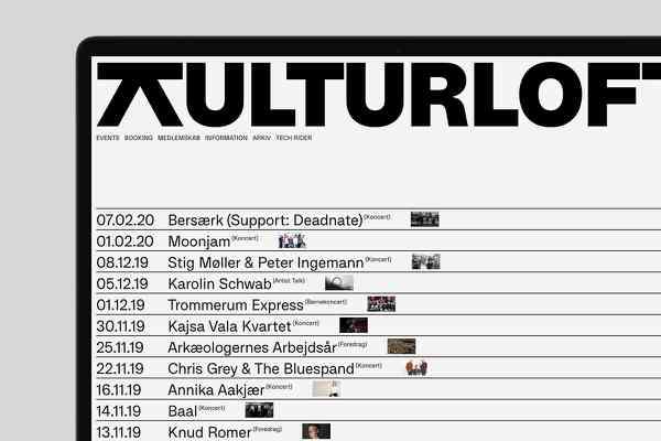 Kulturloft   Schedule