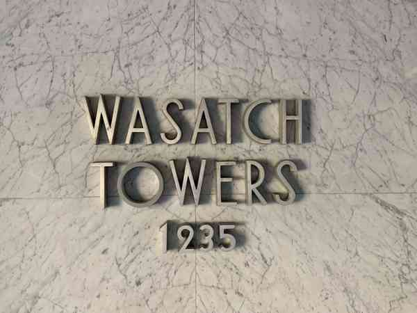 Wasatch Towers, Salt Lake City