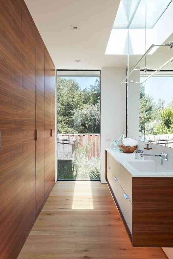 Los Altos New Residence - Midcentury - Bathroom - San Francisco - by Klopf Architecture