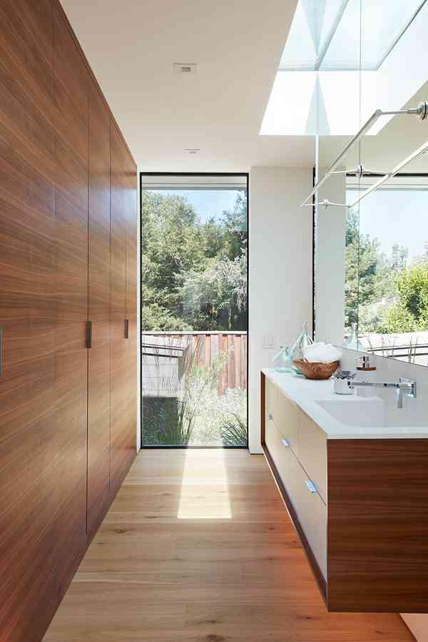 Los Altos New Residence - Midcentury - Bathroom - San Francisco - by Klopf Architecture