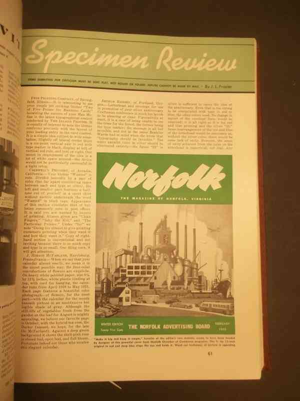 Norfolk magazine, Feb. 1950