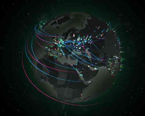 KARTE | Kaspersky Cyberthreat-Echtzeitkarte