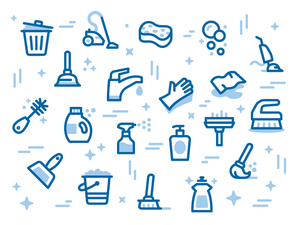 MaidPro Icon Pattern by Zach Roszczewski - Dribbble
