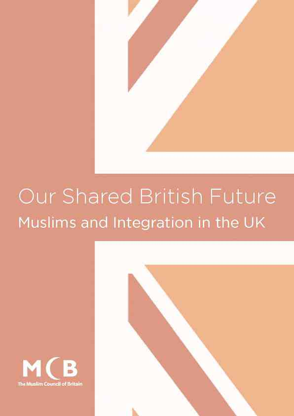 Our Shared British Future: Muslims and Integration in the UK