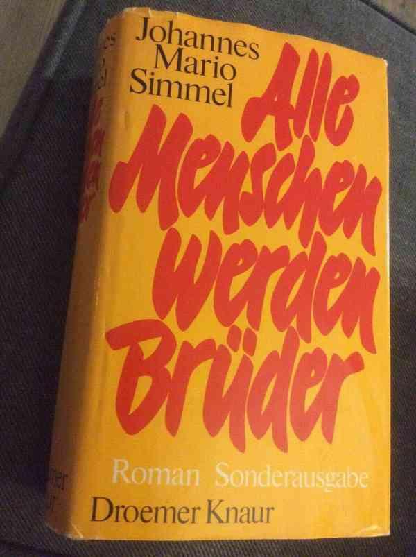 Johannes Mario Simmel-all men are brothers Novel-Special Edition - 1974 | eBay