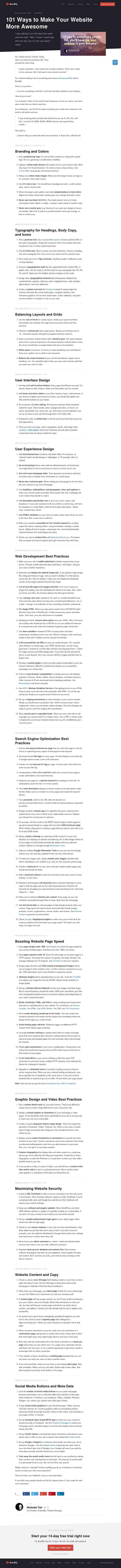 bundlify.com/blog/make-website-awesome-checklist