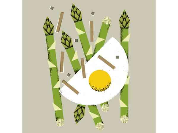 Asparagus & eggs BFF