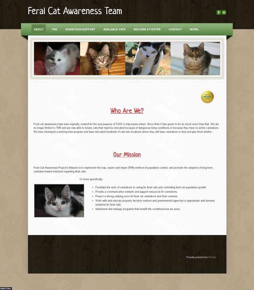 Feral Cat Awareness Team