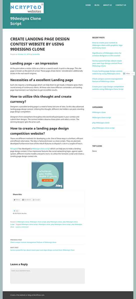 99designsclonescript.wordpress.com/2014/10/22/create-landing-page-design-contest-website-by-using-9…