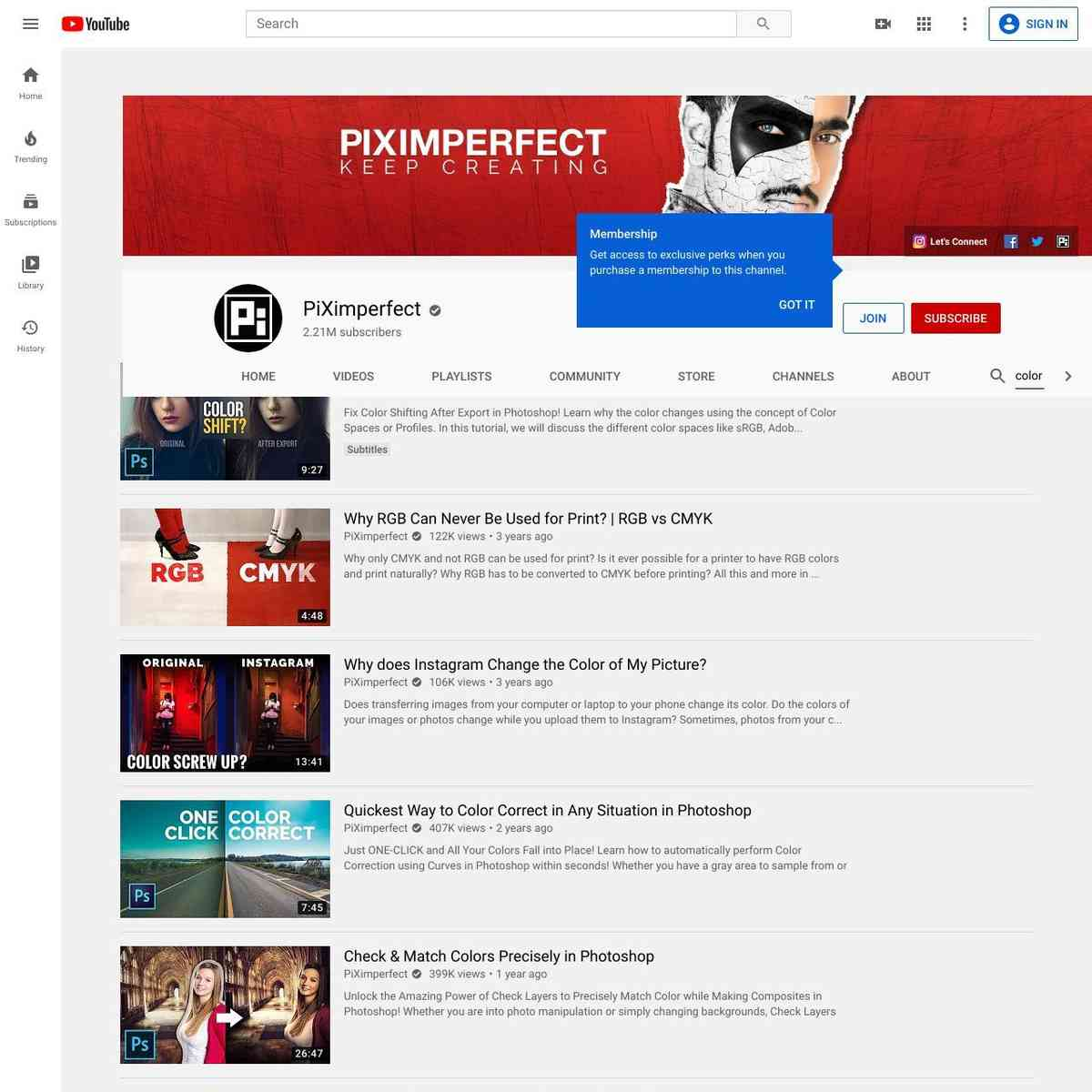 PiXimperfect - YouTube