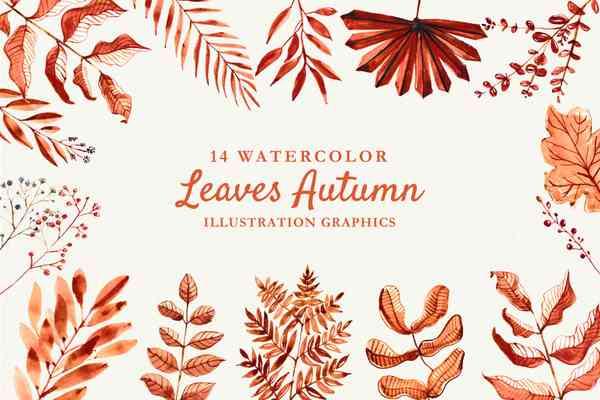 $ Autumn Watercolor