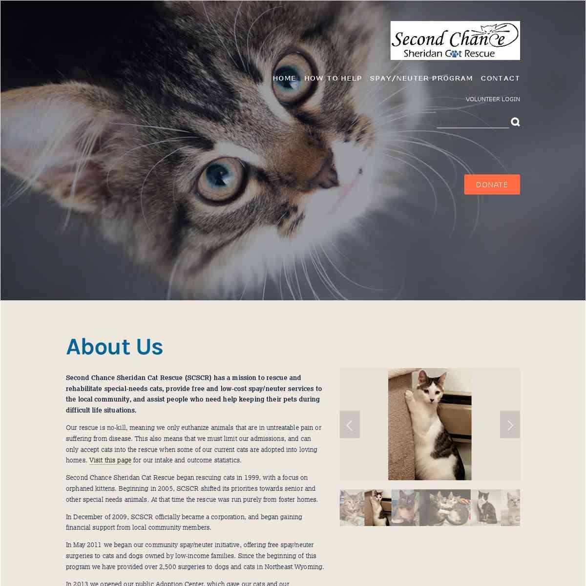 2ndChance Sheridan Cat Rescue (WY)