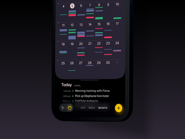 Task Manager App   Schedule