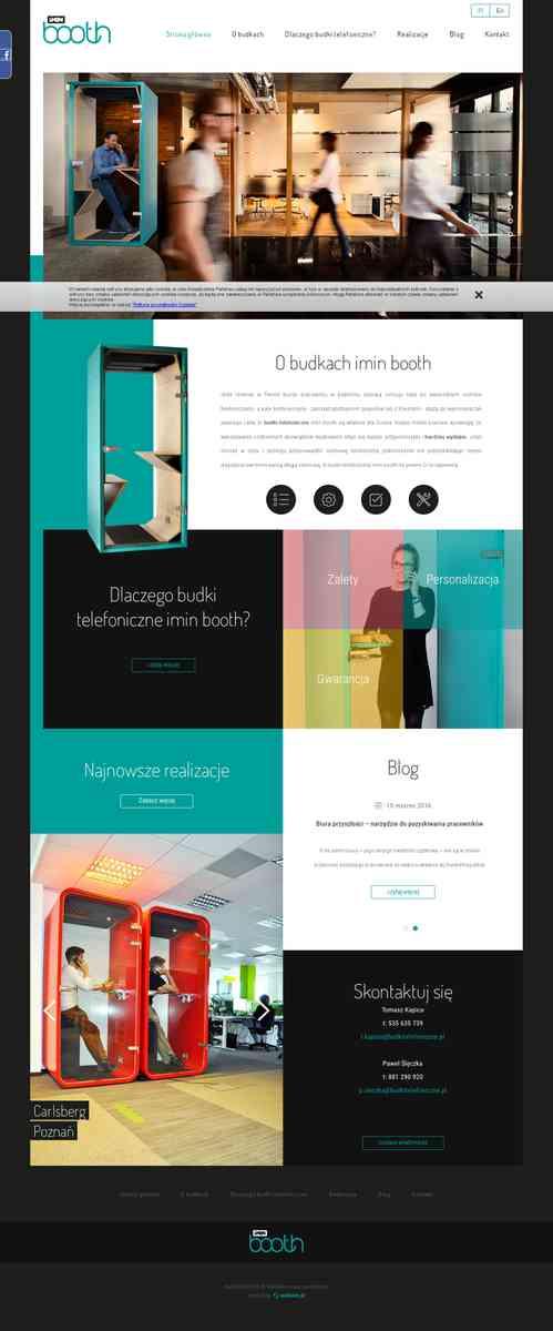 Budki telefoniczne do nowoczesnego biura | imin booth