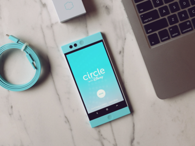 Circle with Disney (Dribbble Project