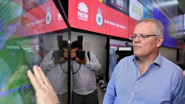 News: Scott Morrison announces compensation payments for New South Wales volunteer firefighters - A…