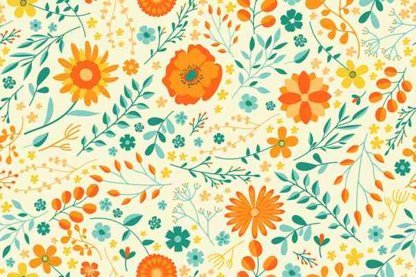 Summer Flower Pattern