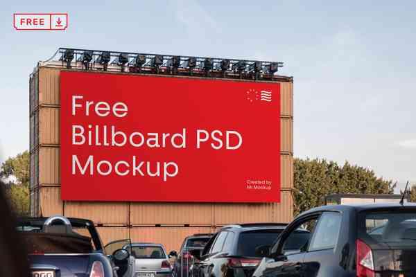 Big Billboard PSD Mockup