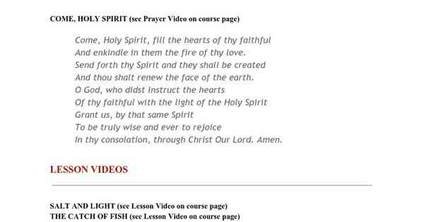Print Lesson - Bible II: Teachings and Miracles 02 Salt and Light/Catch of Fish - Google Docs
