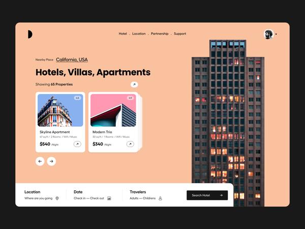 Hotel booking   Hero