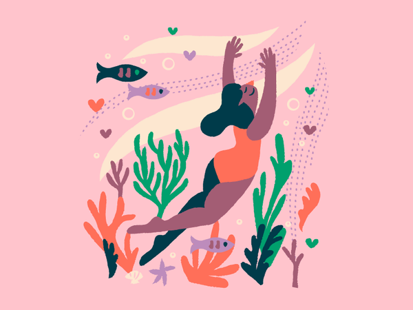 Swimmin' by Anna Hurley