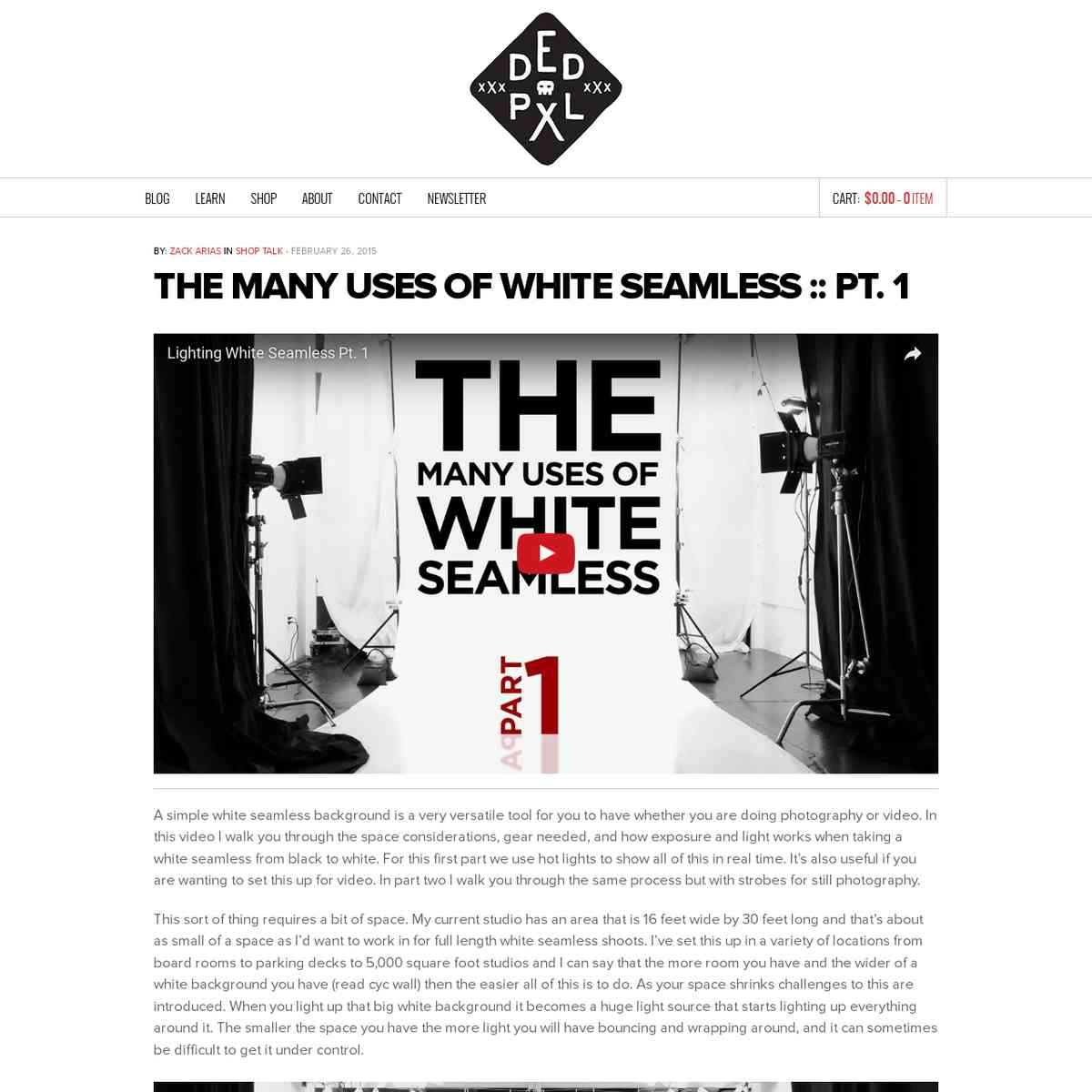 The Many Uses of White Seamless :: Pt. 1 · DEDPXL