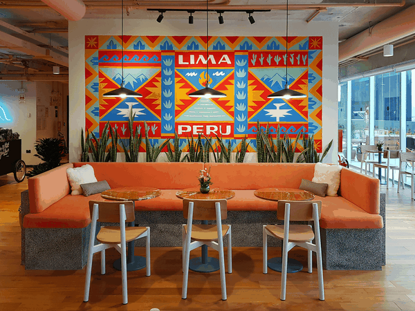 Lima Peru Mural for WeWork