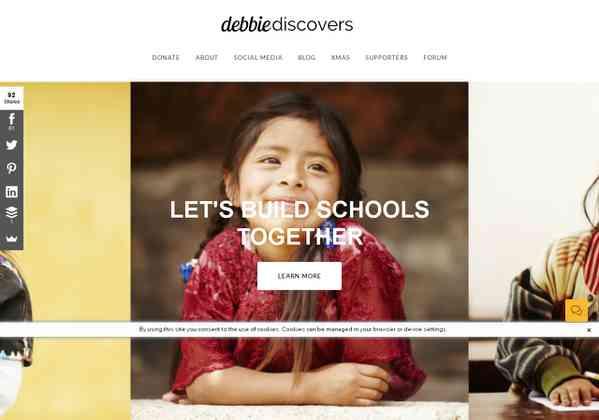 Weebly: Debbie Wants to Build a School - Debbie Wants to Build a School and Needs your Help