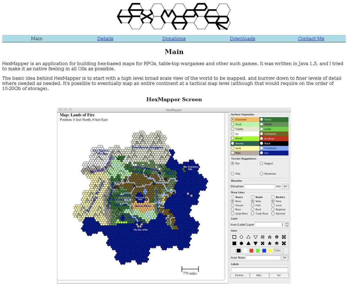 Free Mapper - HexMapper