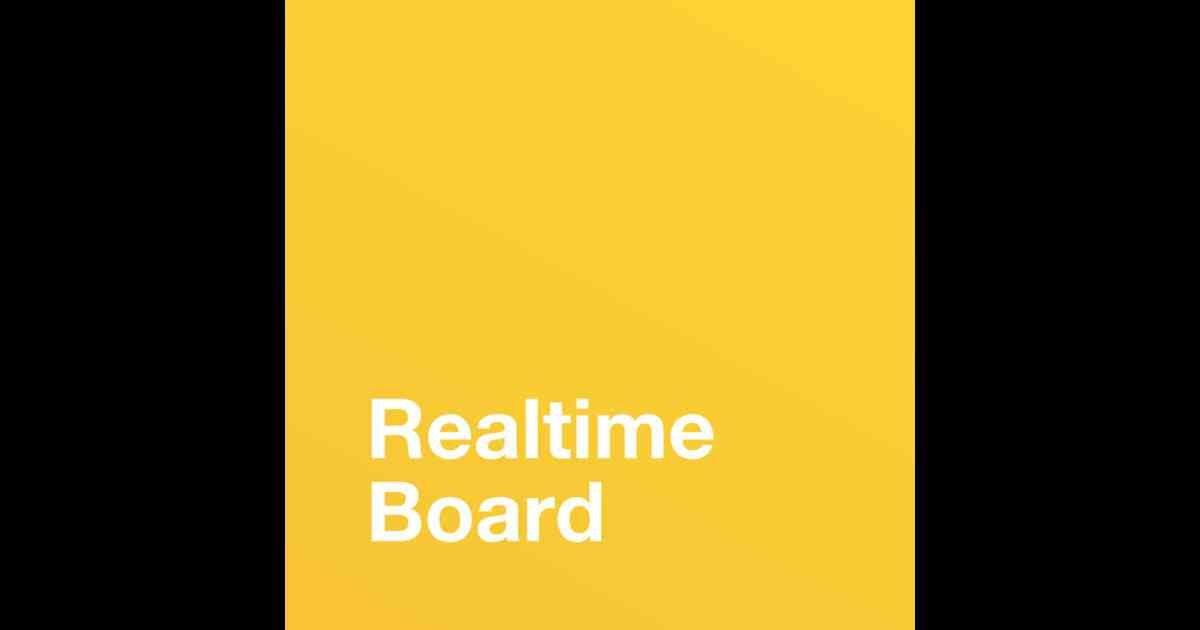RealtimeBoard — Online Whiteboard on the App Store