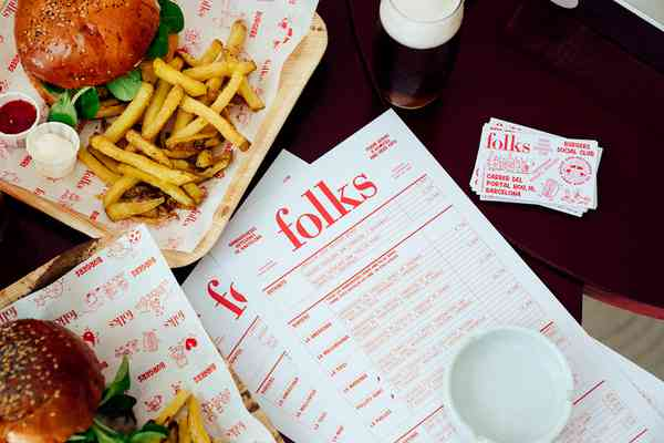 Folks Burgers | Menu