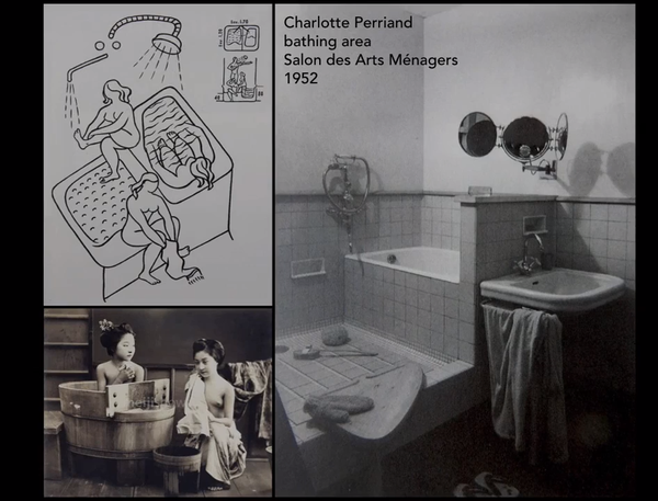 Charlotte Perriand Japanese bath/shower manifesto