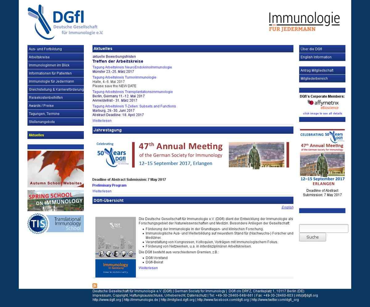 Frauen: Namensliste von Immunologinnen in der DGfI | dgfi.org