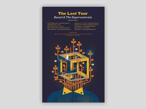 The Lost tour by Terran Washington - Dribbble