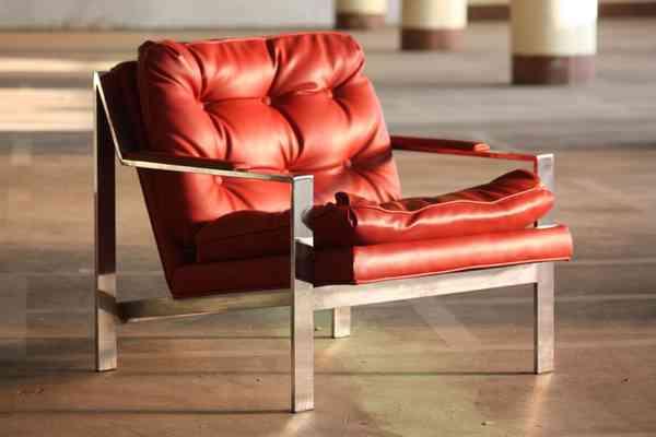 Cy Mann Hollywood Regency Chair