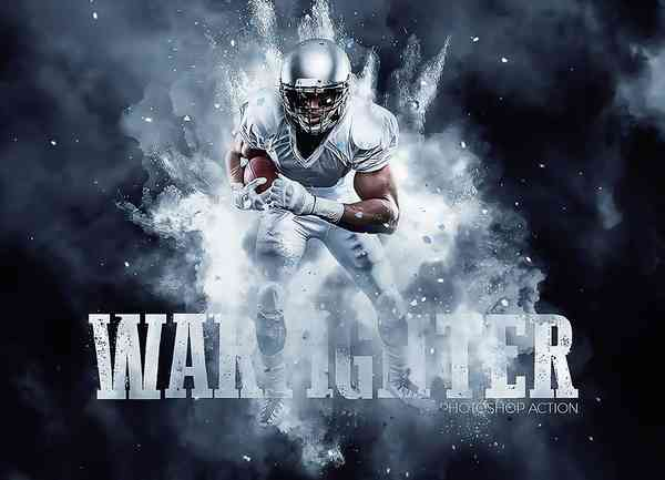 Warfighter photo actions for Photoshop