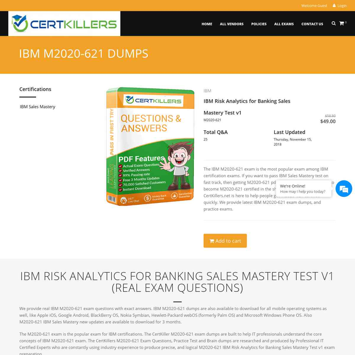 CertKillers.net Q&A of M2020-621 will surely help you pass | practice test | braindumps