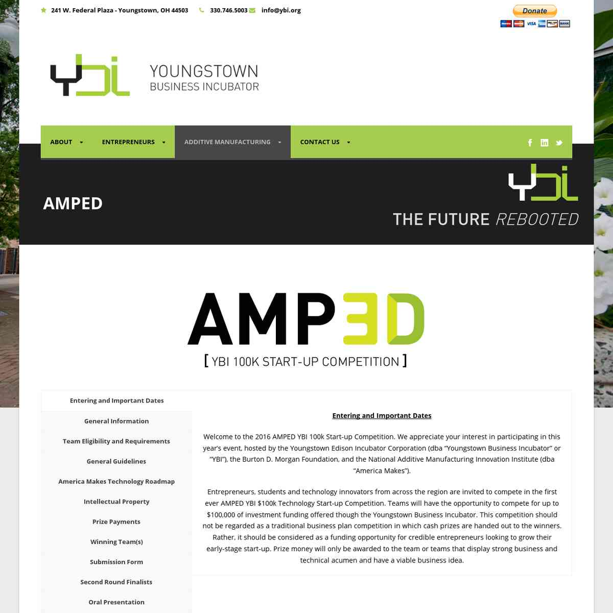 Youngstown Business Incubator » AMPED