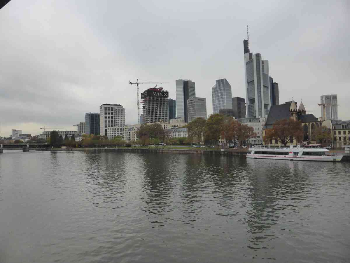 2. Frankfurt and another flight