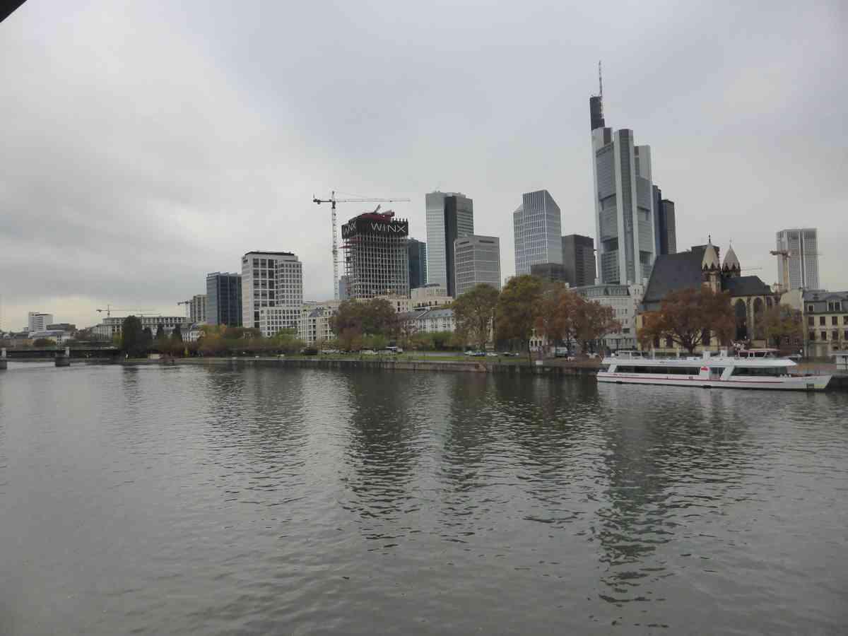 2. Frankfurt and another flight