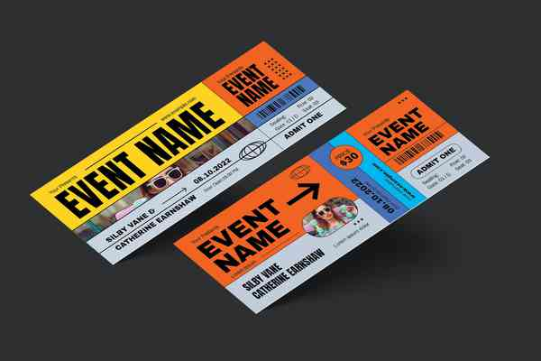 $ Event Ticket