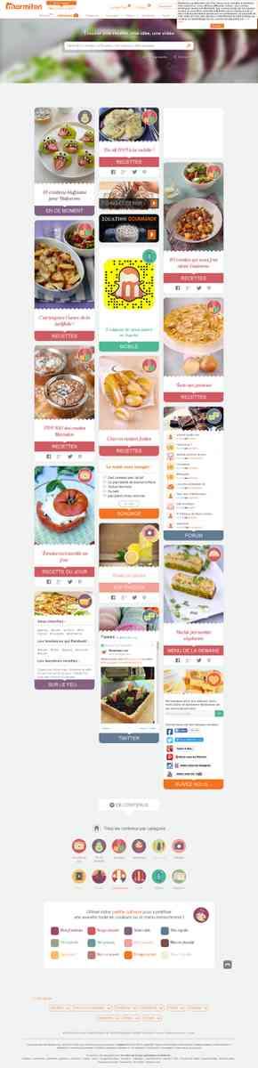 Marmiton.org nos recettes, vos recettes, donne...