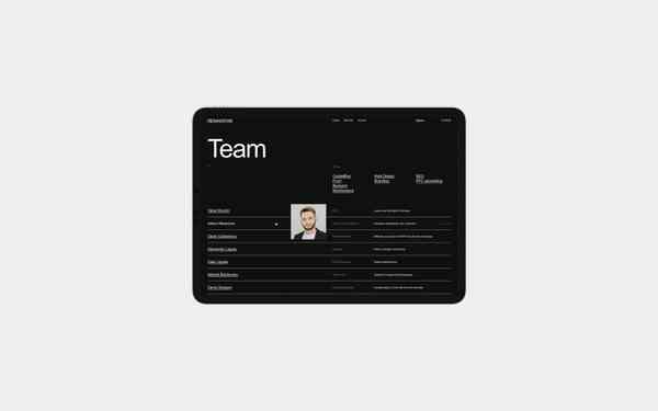 WMF agency | Team