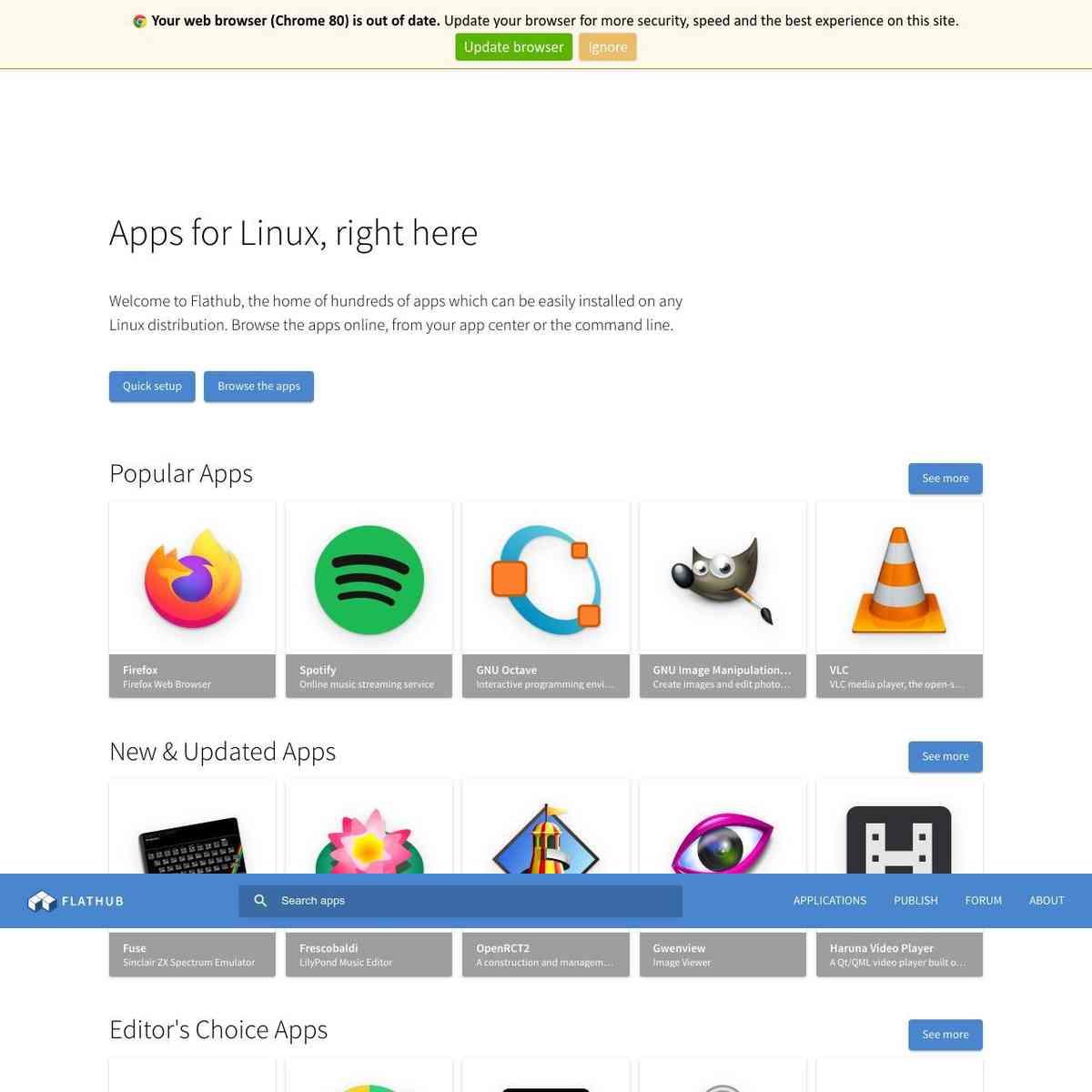 FontForge—Linux Apps on Flathub